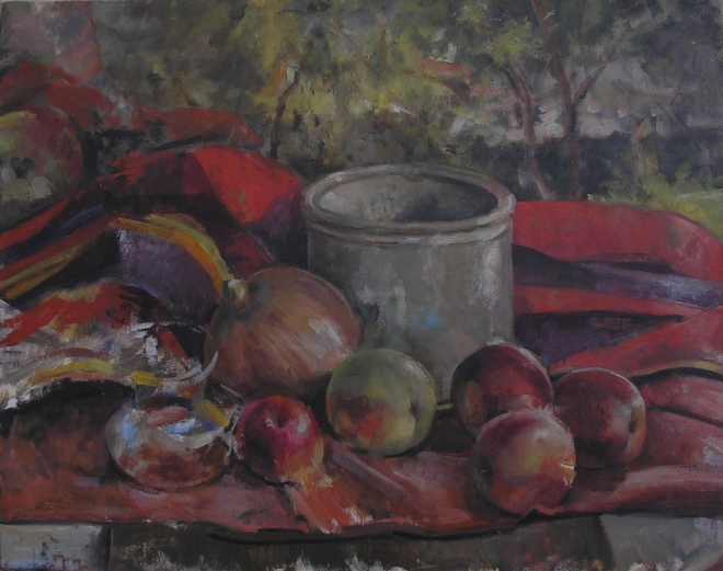 Red with Onion, 2013
