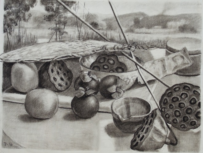 7-chinese-still-life-12x9%22-charcoal-on-paper-2016